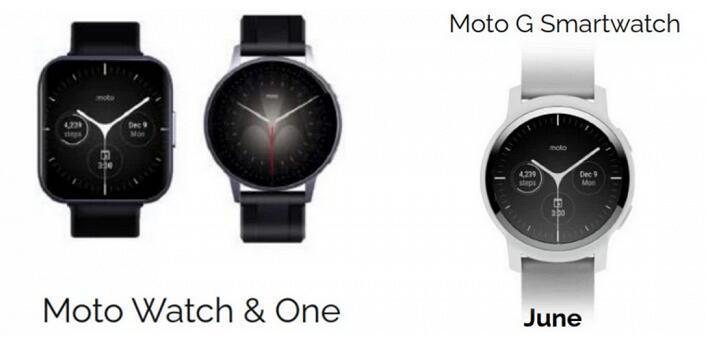 摩托罗拉今年将推出三种型号的Moto智能手表
