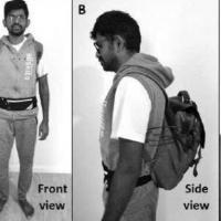 配备AI的背包可让盲人在公共场所行走